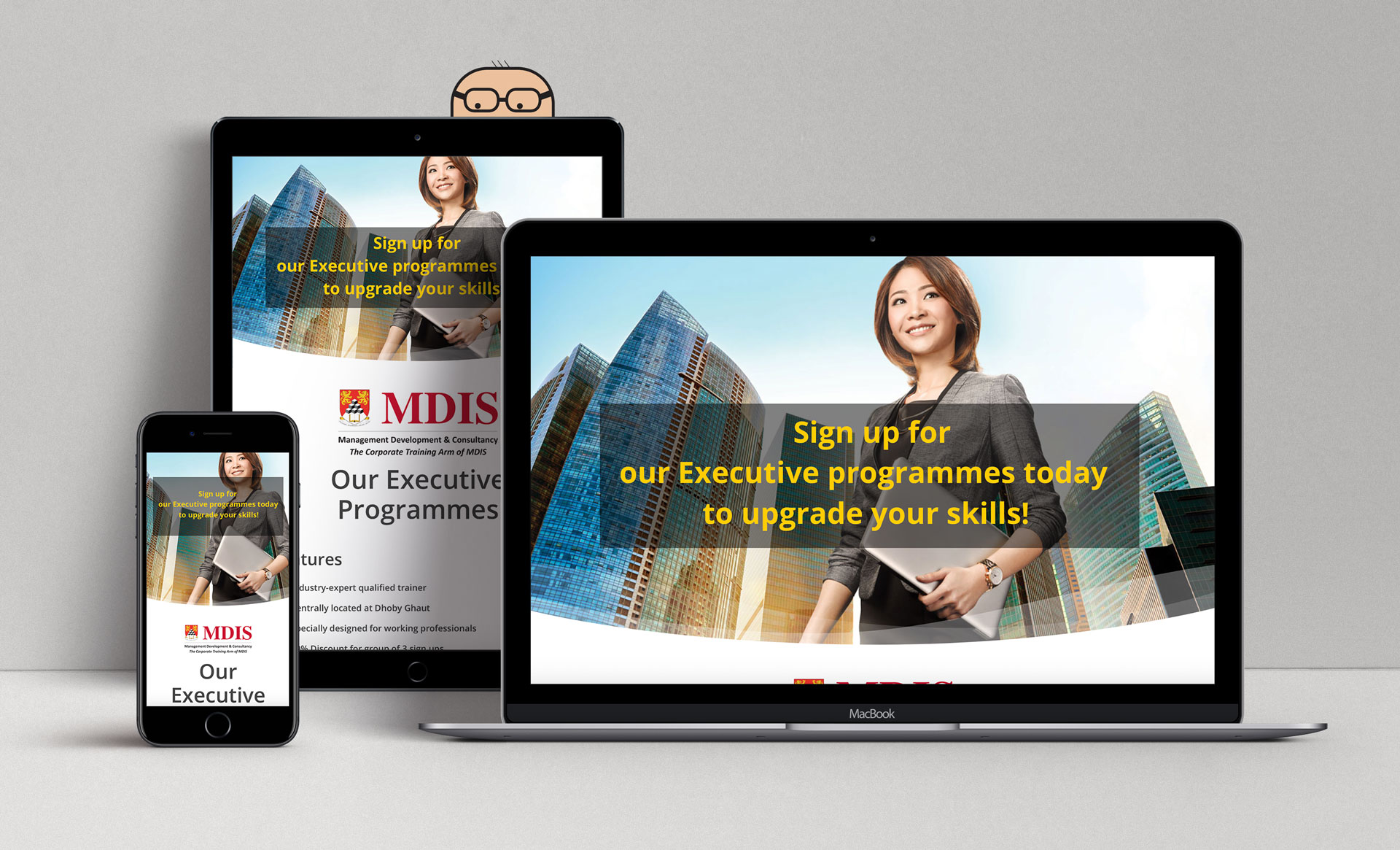 MDIS Executive Programmes Mockup