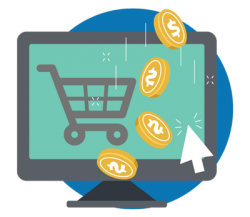 eCommerce small icon op